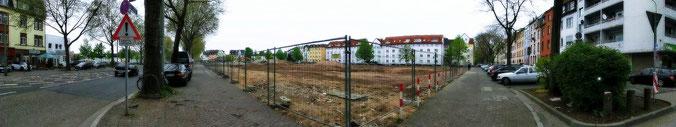 Jan. 2014 war der Startschuss für den Bau von ca. 300 neuen Wohnungen
