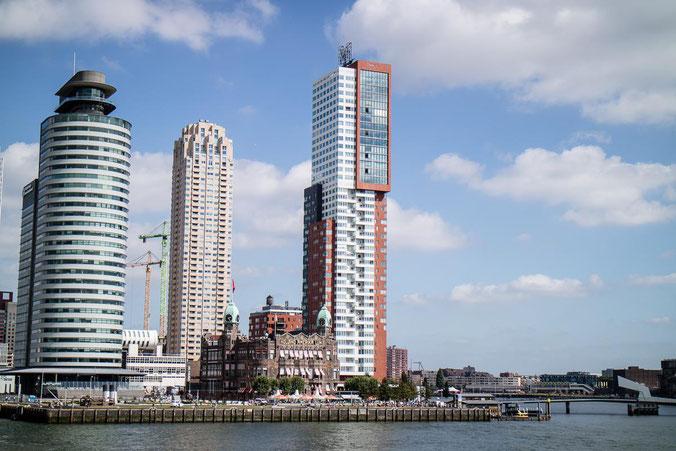 freaky finance, freaky travel, Rotterdam, Reisebericht, Hotel New York, Hochäuser am Wasser