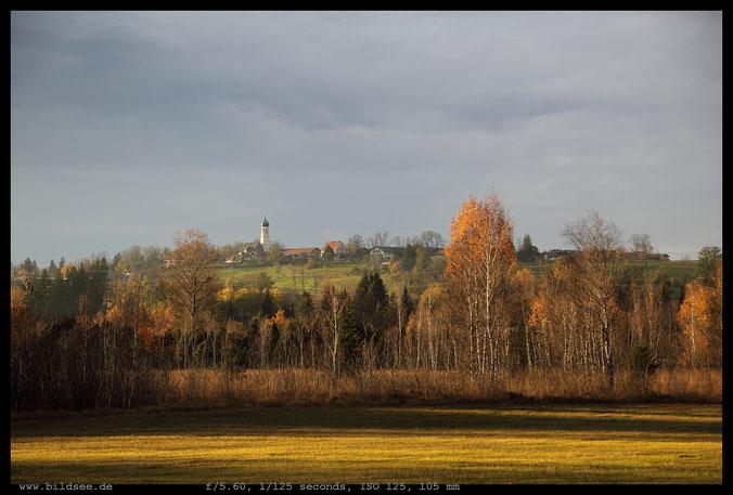 Attenloher Filze und Gaißach Dorf.