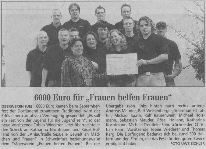 27.10.2004 Schweinfurter Tagblatt