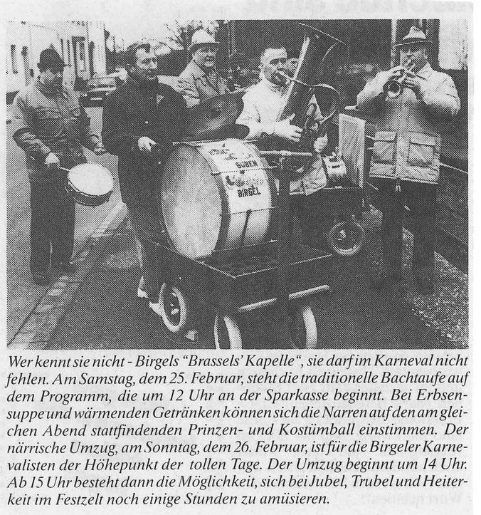 Pressebericht von 1995