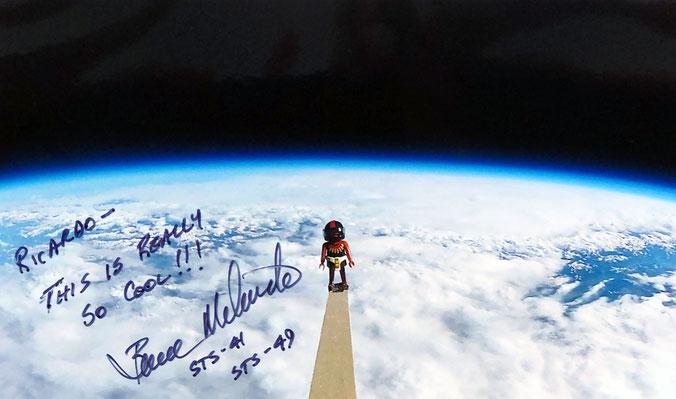 Autograph Bruce Melnick Autogramm