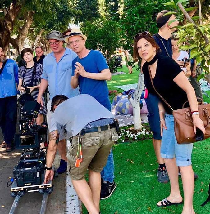 Dreharbeiten in Israel - Tel Aviv