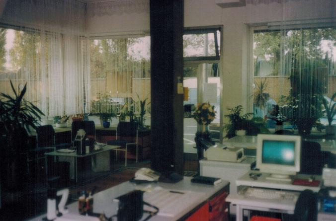 Keupstraße 32, Muammars Büro ca 1995