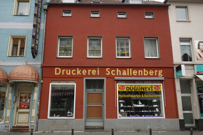 Druckerei Schallenberg, Keupstr. 27