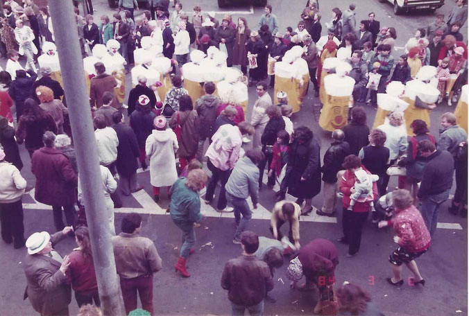 Karneval in der Keupstraße 1981