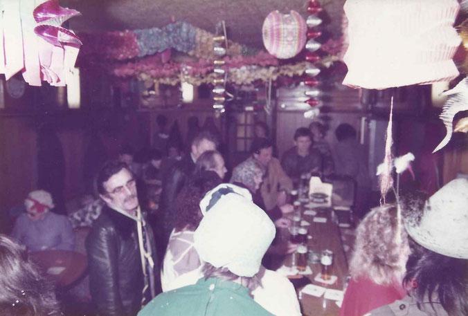 Karneval bei Fassbender 1981