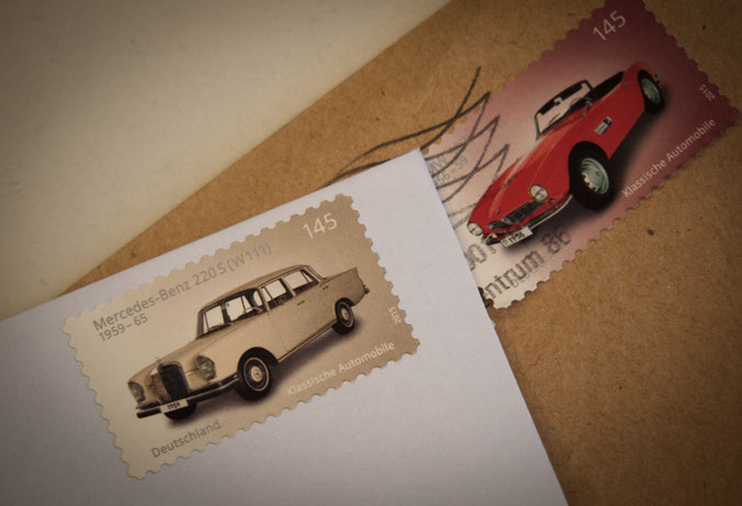 Briefmarke - klassische Automobile - 145