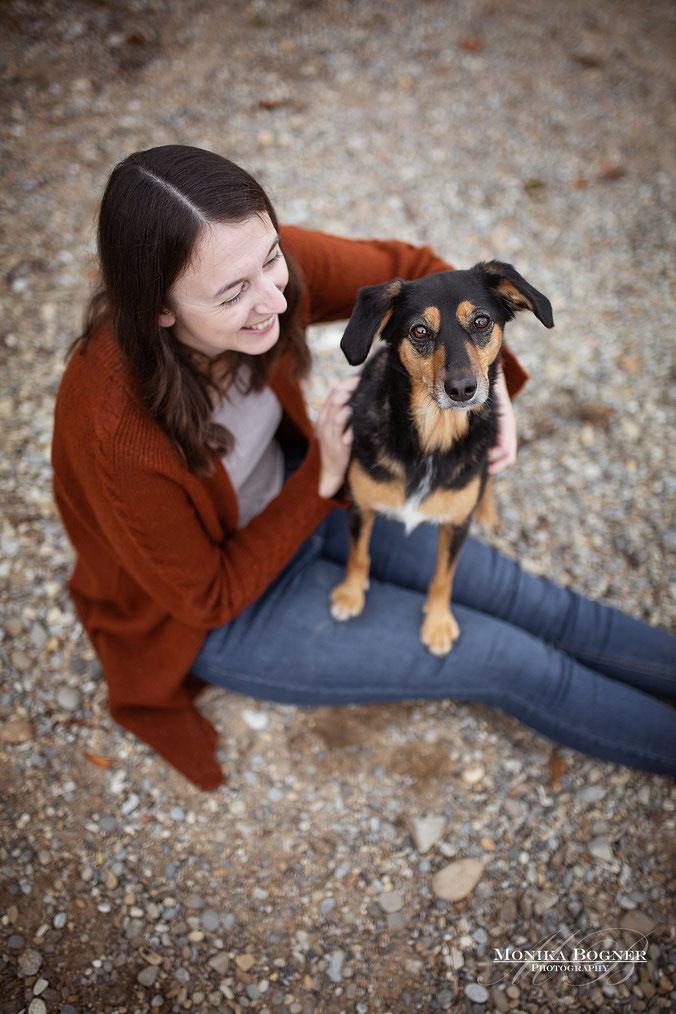 Hundeshooting Mensch und Hund