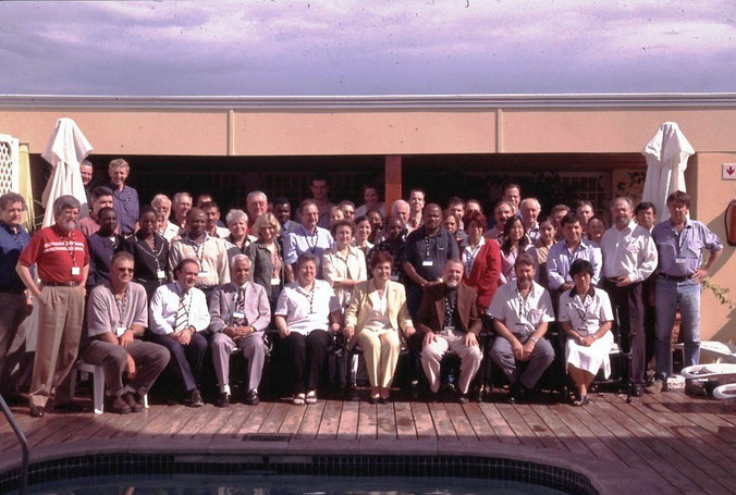 Meeting des CITES Plant-Committees in Windhoek (Namibia) 2004 (ich nahm in meiner Funktion als Präsident des CITES Animals-Committees ebenfalls teil).
