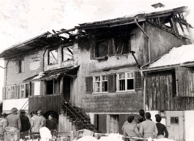 Kasino nach dem Brand
