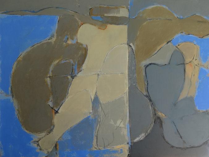 Sans titre / Huile sur toile 97 x 130