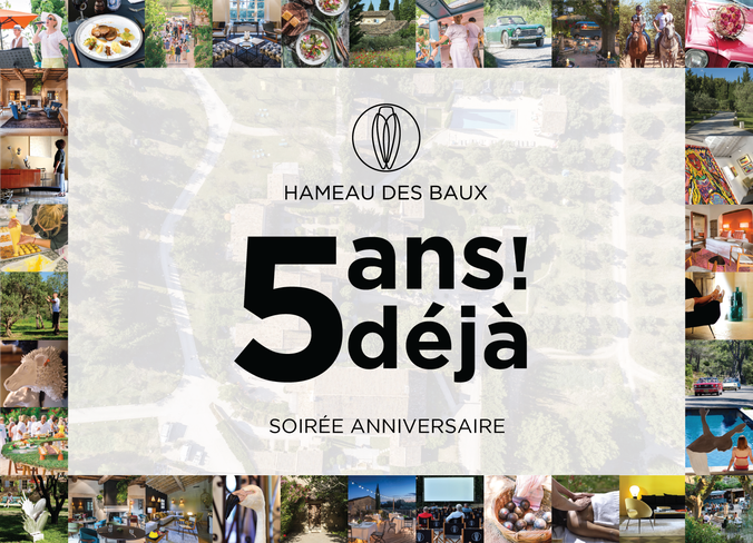 Let's celebrate together Le Hameau's anniversary on June 22 !