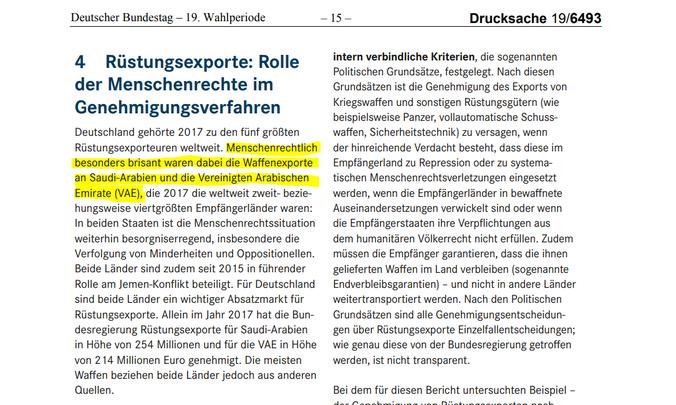 Bericht Deutsches Institut für Menschenrechte  Menschenrechtsbericht Juni 2017 - Juni 2018