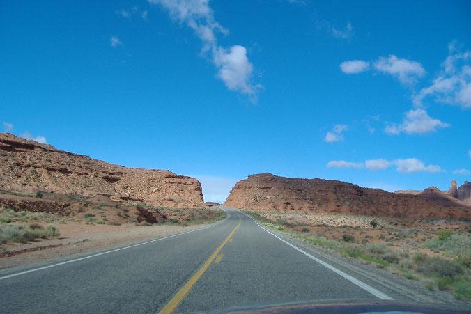 Bild: USA, Utah, HDW, Ford Mustang, MonumentValley