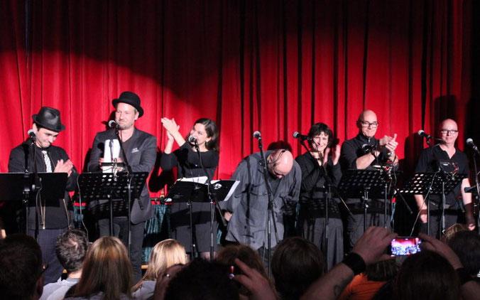 Oliver Rohrbeck und das Lauscherlounge-Ensemble  – Hamburger Krimifestival 2018