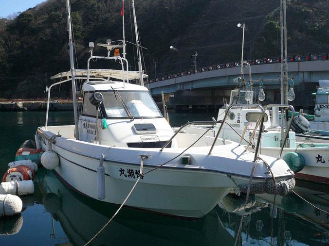 博潮丸 ヤンマー船  EX25B    動力漁船 登録番号 NS3-89672    小型船舶登録番号 294-21679  定員5名