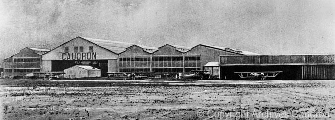 L'usine Caudron à Issy-Les-Moulineaux