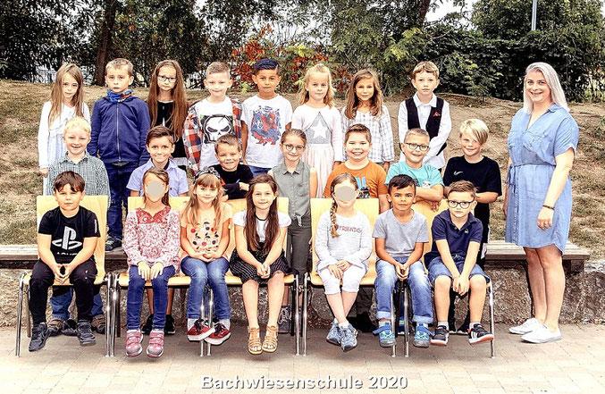 Klasse 2b mit Frau Müller