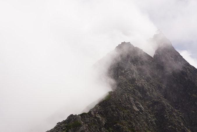 前穂高岳北尾根 3.4峰
