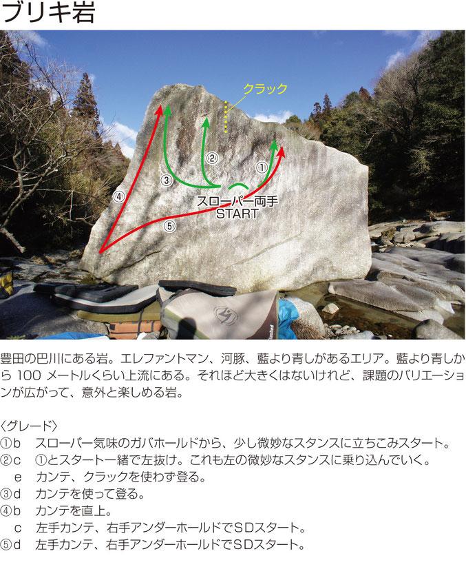 ブリキ岩のトポ