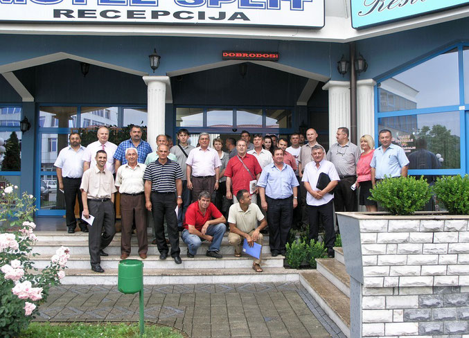 Osnivačka skupština održana u lipnju 2010. u Usori ( slika gore )