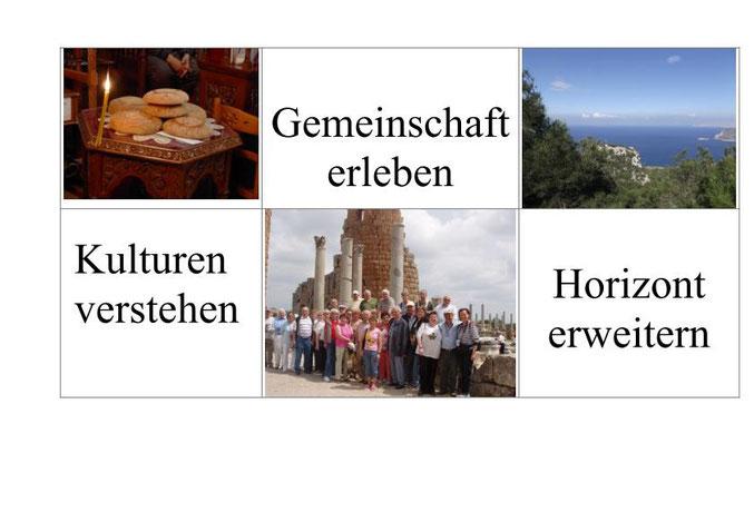 Gemeinschaft erleben-Kulturen verstehen-Horizont erweitern