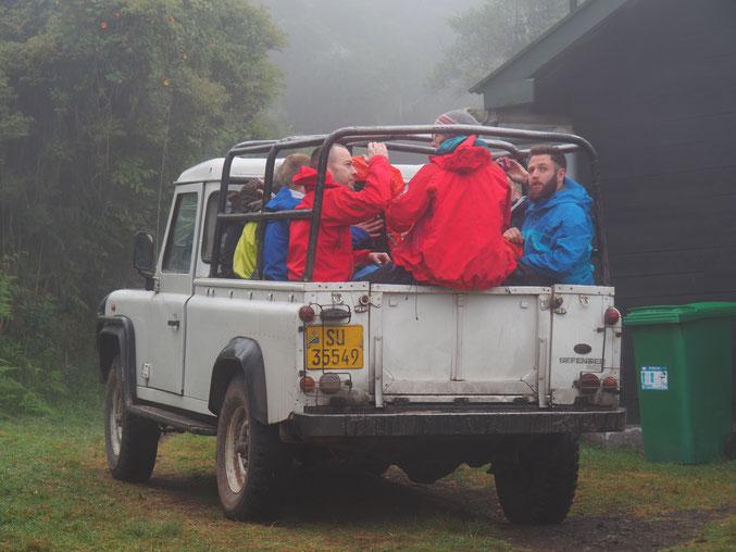Briten im Nebel...