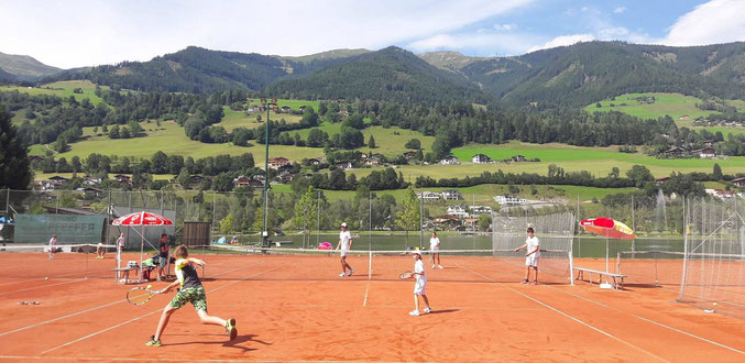 Tennis and German / English Summer Camp in Tyrol Austria