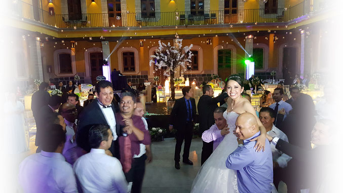 Música para bodas, Casa del Corregidor en la boda de Cintia y Arturo