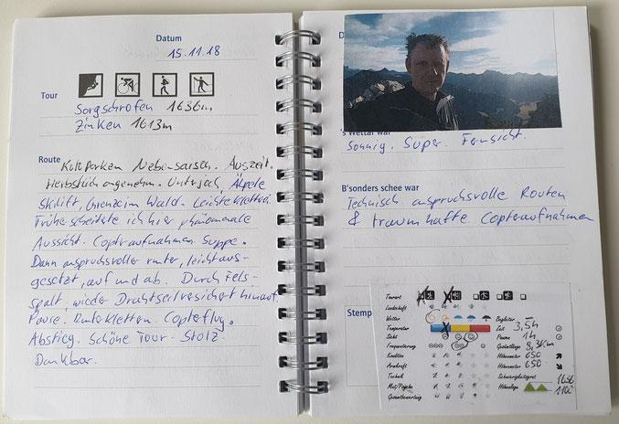 Quelle: Klettersteigatlas Deutschland Schall
