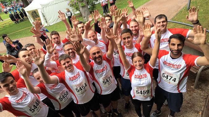 URANO-Team: Gemeinsam voran!   (Bild: Stefan Munzlinger)