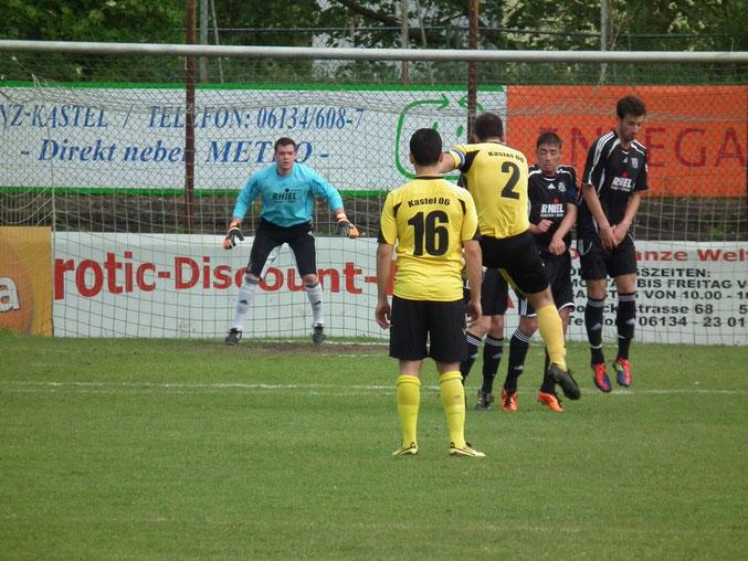 letztes Spiel in der Verbandsligasaison 2011/ 2012 gegen Kastel 06
