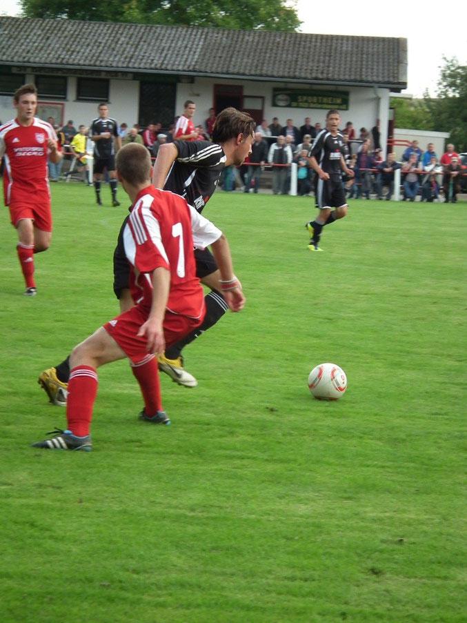 Bilder vom Vorrundenspiel gegen den VfL Dreihausen