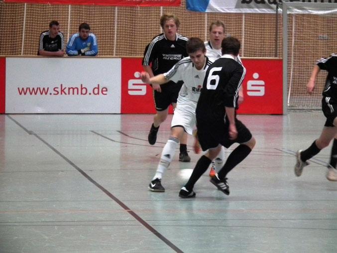 Basti Kraus in der Partie FSV- Schröck I gegen FSV- Schröck II
