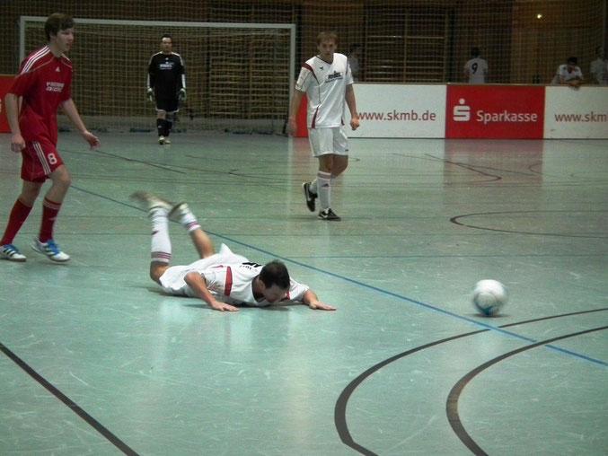 Im kleinen Finale: Der RSV- Roßdorf gegen die FSG- Südkreis