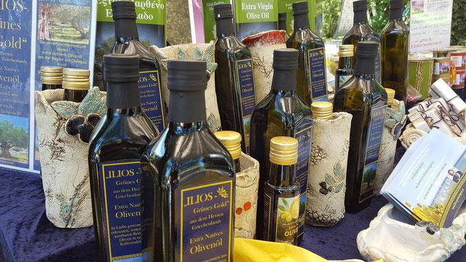 Termine Veranstaltungen griechisches Olivenöl