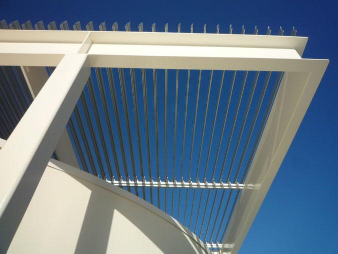 Pergola-rooflight, Willshire LA