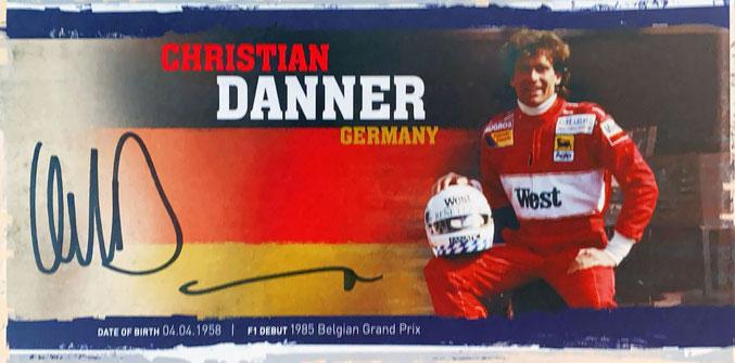 Autograph Christian Danner Autogramm