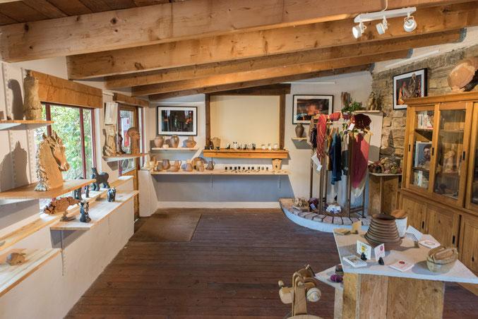 Salle d'exposition de Bouquet de Flammes