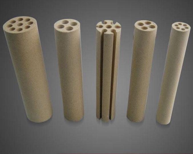 Cordierit Rohre, Durchführung, Isolatoren, Spacer, Abstandshalter