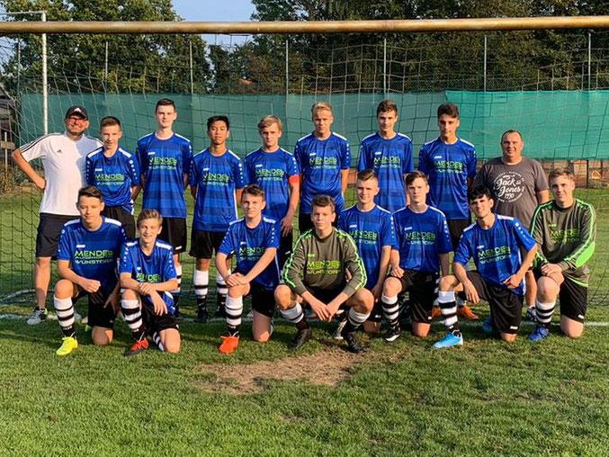 Mannschaftsfoto B-Junioren TSV Hagenburg Saison 2019/2020