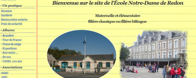 Redon : Ecole Notre dame