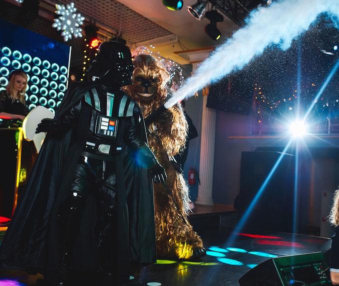 Шоу Звездные Войны на детский праздник и день рождения ребенка в Москве