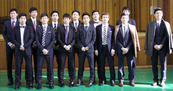 韓国豊生高校38期生テコンドー部卒業生
