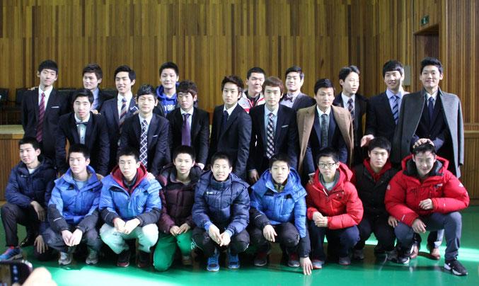 韓国豊生高校テコンドー部
