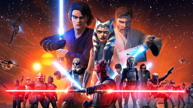 The Clone Wars Final Season Poster