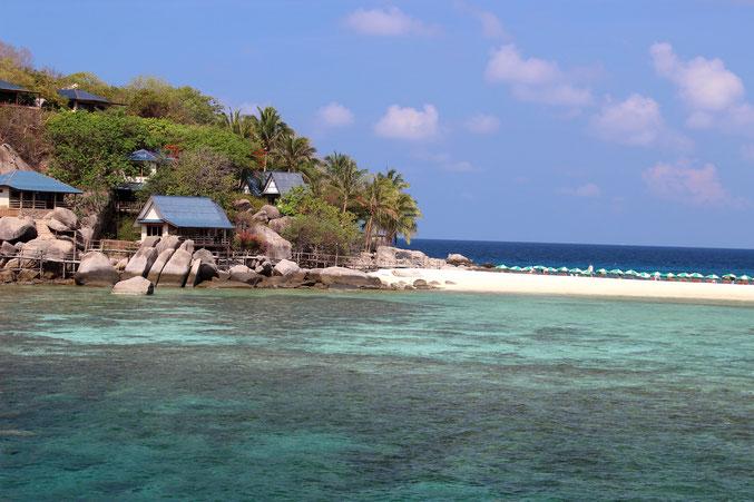Erleben Sie Traumferien in Thailand und gehen Sie auf Inselrundreise nach Koh Tao, Koh Phangan und Koh Samui..