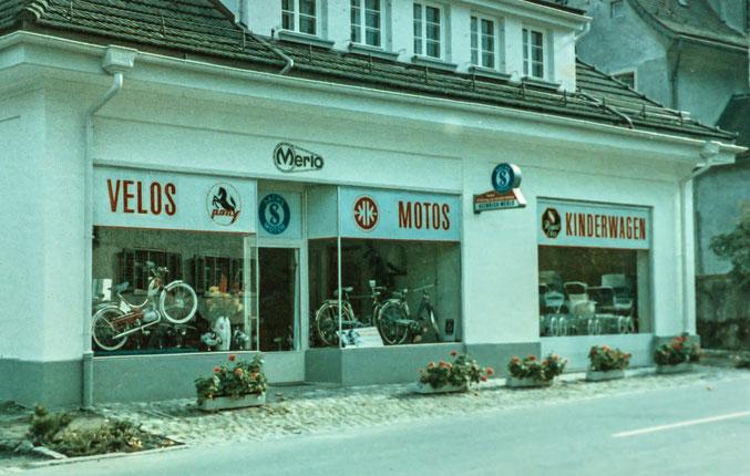 Geschäft von Heinrich Merlo an der Molliserstrasse