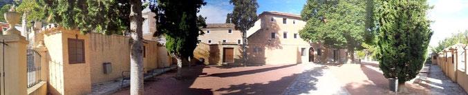 Panorámica actual del Convento